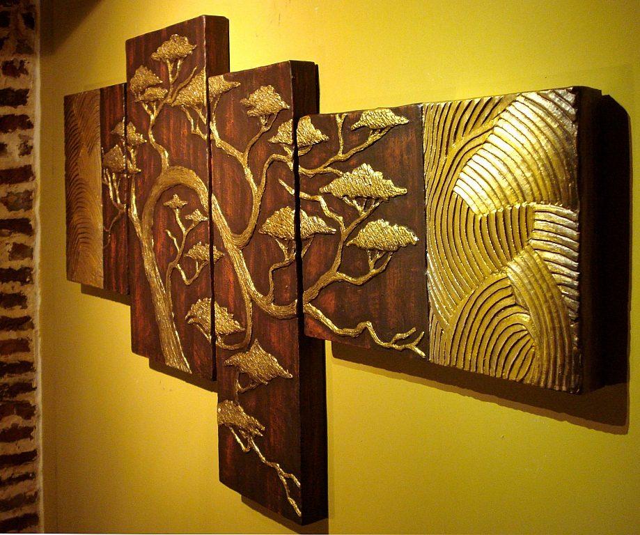 Cuadros tripticos en relieve imagui for Cuadros con relieve modernos
