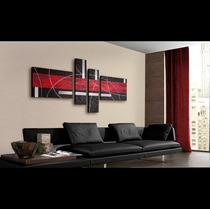 Cuadros Pintados Arte Pop Abstractos Texturados Promocion !!