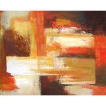 Cuadros Modernos Abstractos Decoración C/textura Acrílico