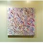 Cuadro Abstracto Moderno 50x60 En Acrilico, Barnizado!!!