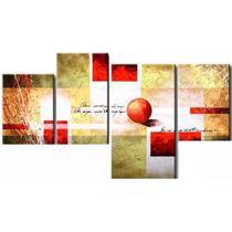 Cuadros Abstractos Modernos Texturados Tripticos Polipticos