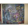 Cuadro Abstracto Oleo Original De Carolina Muchnik (237)