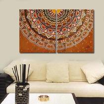 Cuadro Decorativo - Pintado A Mano-diseño Original- 120x50cm