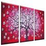 Cuadros Decorativos Modernos Tripticos Texturados Abstractos