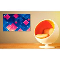 Cuadros Impresos En Tela Canvas 50x40cm Colección Abstractos