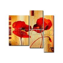 Pintura / Cuadro Oleo En 3 Partes (diseños Personalizados)