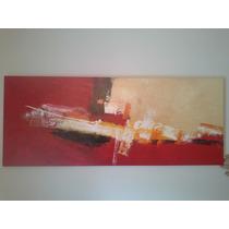 Cuadro Pintura Abstracta, Pintado Al Oleo. Nuevo!!!