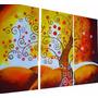 Modernos Abstractos Texturados Decorar Sillon Lienzo Hogar