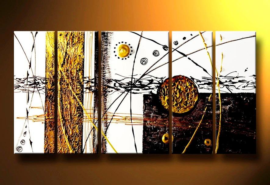 Cuadros abstractos modernos texturados acrilico arte hogar - Cuadros figurativos modernos ...
