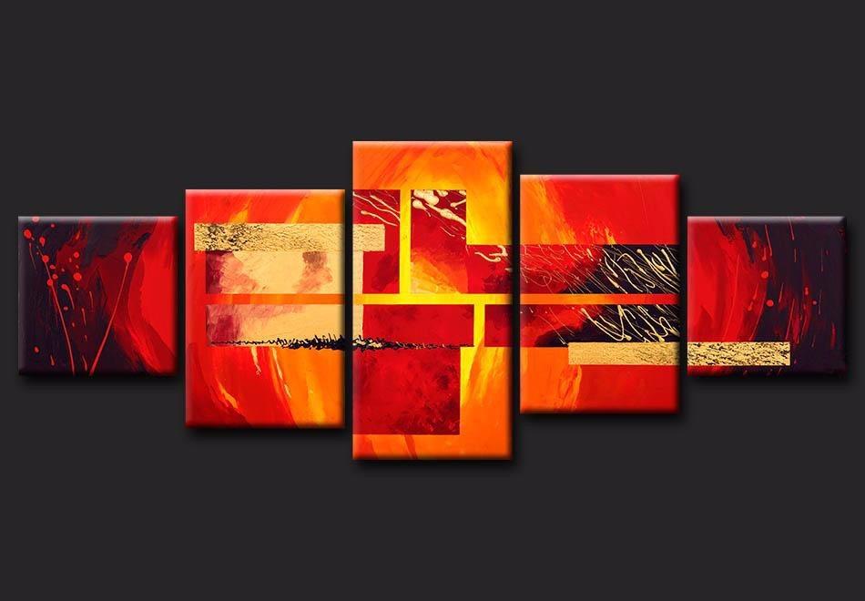Cuadros paisajes tripticos murales minimalista modernos for Imagenes de cuadros modernos