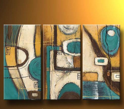 Pinturas abstractas al acrilico imagui for Imagenes de cuadros abstractos con relieve