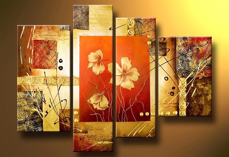 Cuadros abstractos modernos en acrilico texturados for Fotos cuadros abstractos modernos