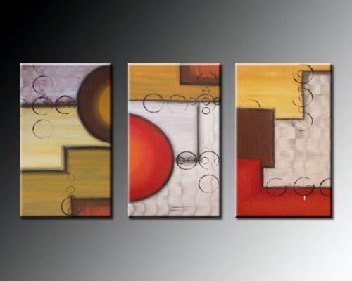 Imagenes de cuadros abstractos tripticos imagui - Triptico cuadros modernos ...