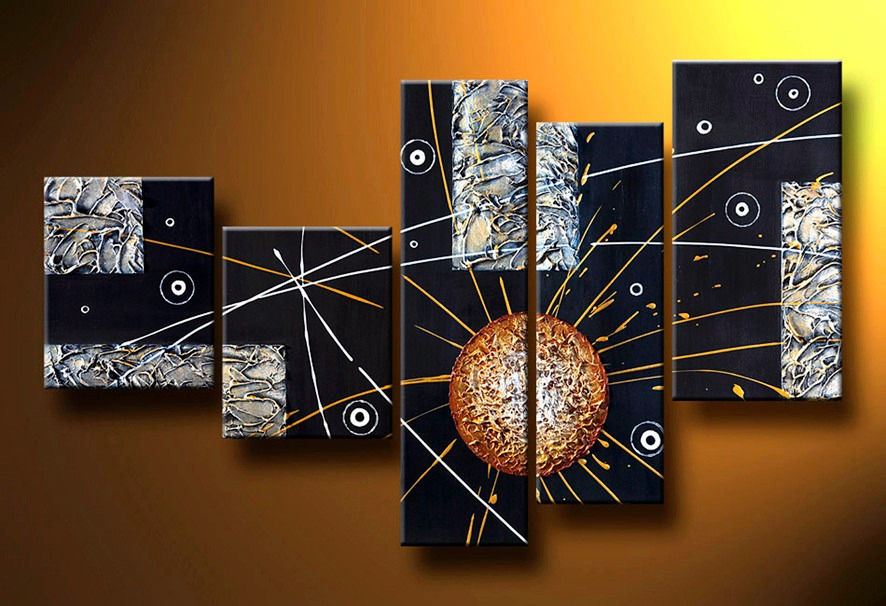 Cuadros tripticos o dipticos texturados car interior design for Cuadros tripticos abstractos