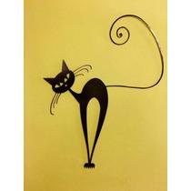 Gato Rufus - Imágenes Metálicas Para Decoración Interior
