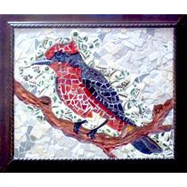 Mosaico Artesanal De Venecitas Y Cerámicos.