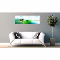 Cuadros Abstractos Tripticos Dormitorio Modernos Living