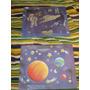 2 Cuadritos Nene Espacial