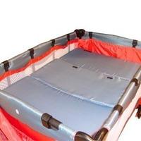 Colchón Para Practicuna Plegable Funda Lavable R&m Babies