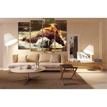 Animal Caballo Bastidor En Canvas De 120x90 Cm Exelente
