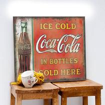 Chapas Vintage Retro Impresas. No Cuadros!diseños Exclusivos