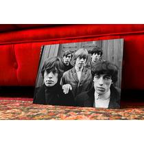 Cuadro Individual The Rolling Stones En Blanco Y Negro