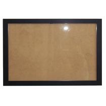 Marco A4 Desmontable Para Diploma Moldura Negra 1,5cm