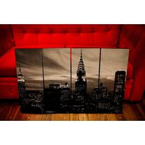 Cuadros New York (blanco Y Negro). Paisajes Y Decoración