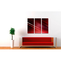 Cuadros Impresos Tripticos, Tela Canvas 50x40cm Abstractos!