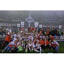 Club River Plate Campeones Bastidor Tela Canvas 140x90 Cm