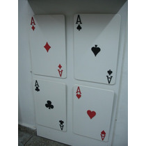 Cuadro Moderno Carta De Poker 53 X 34 (bar-living-ect)