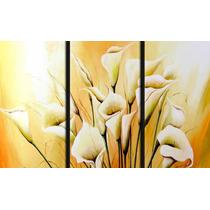 Cuadors Dipticos Tripticos Minimalistas Abstractos Florales