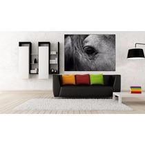 Caballo En Canvas De 90x60 Cm Exelente Calidad