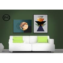 Cuadros Abstractos Modernos Arte Digital Impresos En Vinilo