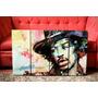 Cuadros Jimi Hendrix. 4 Piezas. Música, Rock Y Decoración!