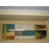 Cuadro Abstracto Con Texturas
