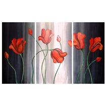 Cuadros Dipticos Tripticos Modernos Florales