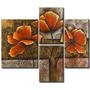 Cuadros Florales Modernos, Dipticos, Tripticos, Polipticos