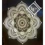 Mandala, Flor De Loto, Cuadro, Espejo, Velador Con Luz