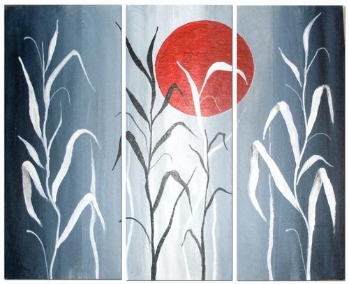Cuadros abstractos modernos minimalistas texturados compra for Cuadros minimalistas modernos