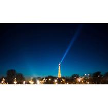Cuadro De Torre Eiffel, Paris En Canvas Con Bastidor 80x45