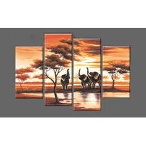 Cuadros Africanos Con Elefantes!