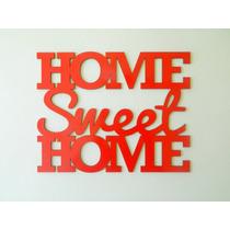 Home Sweet Home (rojo)
