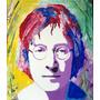 Cuadro John Lennon Acrilico Sobre Tela 45x55 - Arte Al