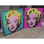 Cuadros Marilyn - Arte Pop - En Lona Vinilica - 90x90