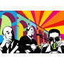 Cuadros Lobo Pop Art Brasil Modernos En Tela Canvas