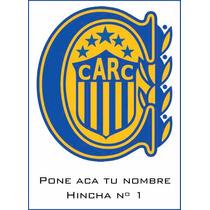 Rosario Central, Racing, River Plate - Laminas En Bastidor