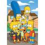 Los Simpsons, Cuadros Y Chapas Todos Los Personajes