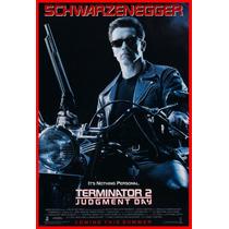 Terminator 2 Cuadro Enmarcado 45x30cm