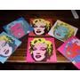 Cuadros Marilyn Monroe - Andy Warhol - Arte Pop - 20x20
